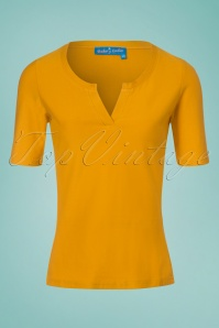 Bakery Ladies 3 4 Sleeves Top in Amber 111 80 23549 20180322 0001W