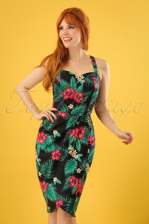 Collectif Clothing Mahina Tropical Paradise Saron Dress 22838 20171121 01W