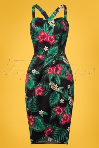 Collectif Clothing Mahina Tropical Paradise Saron Dress 22838 20171121 0001W