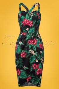 Collectif Clothing Mahina Tropical Paradise Saron Dress 22838 20171121 0001W