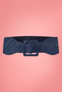Dancing Days by Banned Belt in Navy 230 31 24098 20180323 0003w
