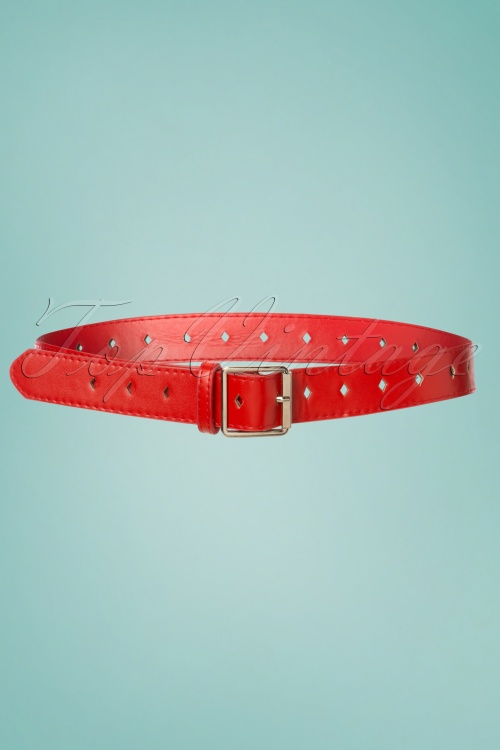 Collectif Bethany Diana Belt in Red 230 20 24350 20171122 0002w