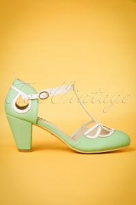 Banned Mint T strap Pumps 401 32 24140 14032018 003w