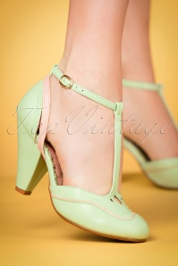 Bettie Page Shoes Annalise Mint Pumps 401 32 23975 15032018 007w