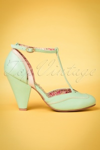 Bettie Page Shoes Annalise Mint Pumps 401 32 23975 14032018 002w