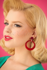 Darling Divine Red Earrings 333 20 24707 31032014 002W