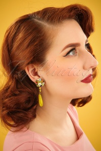 Darling Divine Yellow Earrings 333 80 24711 31032014 001W