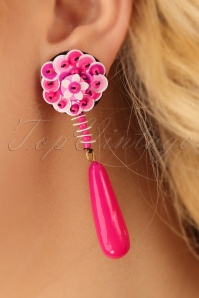 Darling Divine Magenta Earrings 333 22 24710 31032014 002W