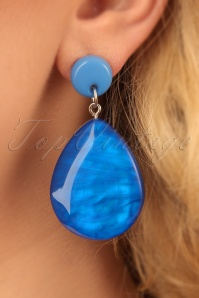 Darling Divine Blue Earrings 333 30 24703 31032014 002W