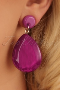 Darling Divine Magenta Earrings 333 22 24704 31032014 002W