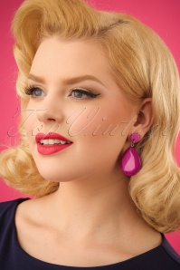 Darling Divine Magenta Earrings 333 22 24704 31032014 001W