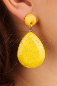 Darling Divine Yellow Earrings 333 80 24705 31032014 002W