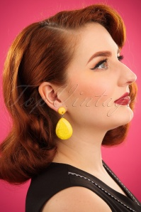Darling Divine Yellow Earrings 333 80 24705 31032014 001W