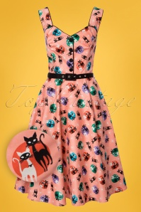Vixen Kitty 50s Pink Dress 102 29 23207 20180326 0002W1