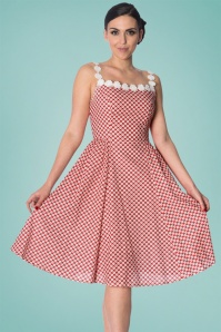 Dancing Days by Banned Red Daisy Dress 102 27 24302 20180327 01