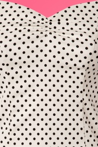 Dancing Days by Banned White Polkadot Top 110 59 24253 20180327 01W