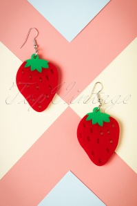 Collectif Strawberry Earrings 333 20 24365 20112017 001W
