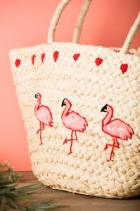 Collectif Flamingo Basket Bag 212 50 24349 21112017 006