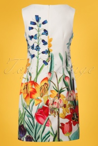 Smashed Lemon White Floral Dress 100 59 23516 20180321 0007W