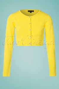 Smashed Lemon Cardigan in Yellow 140 80 23504 20180326 0001W