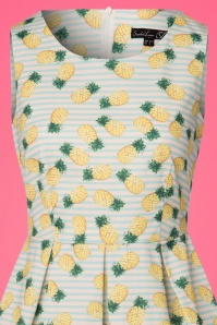 Smashed Lemon White Striped Pineapple Dress 102 59 23517 20180321 0002V