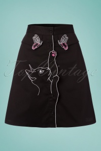 Dancing days by Banned Mew skirt in Black 123 10 24316 20180328 0001W