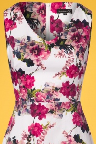 Smashed Lemon White and Pink Floral Dress 102 59 23512 20180321 0002V