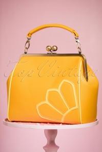 TopVintage Boutique Collection 50s Vanessa Yellow Handbag 212 80 24442 21032018 005W