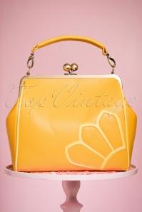 50s Vanessa Handbag in Sunflower Yellow