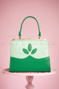 TopVintage Boutique Collection 50s Ava Green Handbag 212 40 24444 21032018 003W