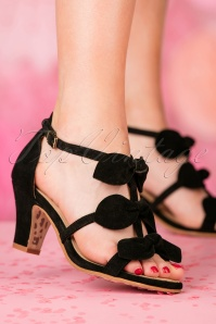 TopVintage Boutique Collection Ava Sandal in Black 24405 27032018 005W