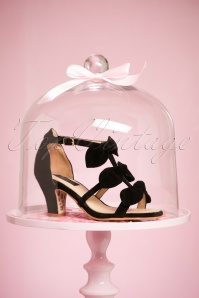 TopVintage Boutique Collection Ava Sandal in Black 24405 21032018 002W
