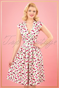 TopVintage Boutique Collection Lady V Eva Cherry Swing Dress 25087 20180323 0009W
