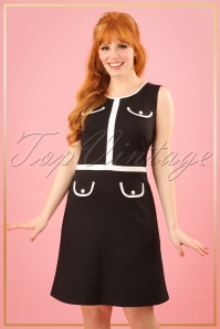 TopVintage Boutique Collection Mademoiselle Yeye 60s Mod Midnight in Paris 25505 20180323 0008w