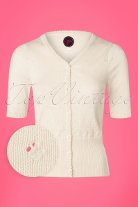 Tante Betsy Cardigan in White 140 50 23535 20180329 0001wv