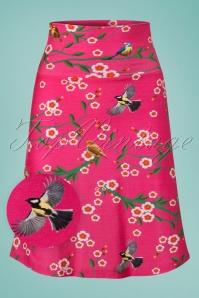 Tante Betsy Blossom Pink Birds Skirt 123 29 23523 20180329 0001wv