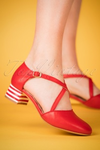 Miss L Fire Rachel Red Pumps 402 20 23463 28032018 002W