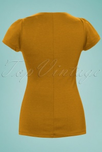 Rock Steady Clothing Sophia Top Mustard 24580 2W