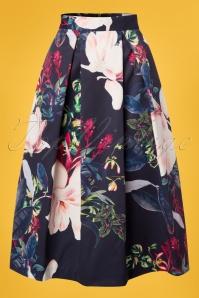 Closet London Pleated Skirt Floral Skirt 122 39 25652 20180405 0002W
