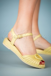 Miss L Fire Adrianna Yellow Sandals 420 80 23457 28032018 003W