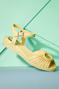 Miss L Fire Adrianna Yellow Sandals 420 80 23457 05042018 005W
