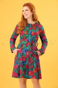 Blutsgeschwister Sunshine of mine floral coat  151 49 23494 20180305 0013W