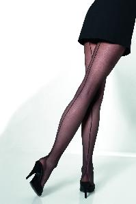 50s Vienna seamed tights black 16 denier