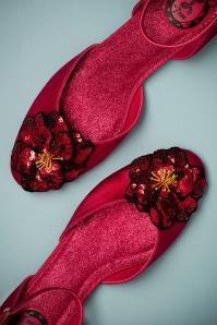 Miss L Fire Petunia Red Flat Shoes 410 20 23455 05042018 018