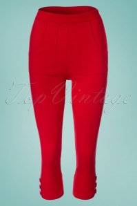 Vixen Holly Red Capri Pants 134 20 23247 20180326 0002W