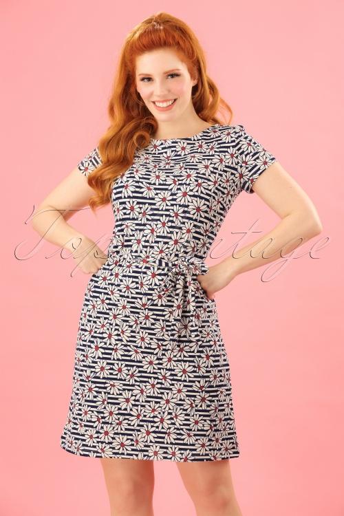 King Louie Daisy Zoe Striped Dress 106 39 23192 20180228 0005W