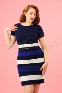 Paper Dolls Colorblock Striped Pencil Dress 100 39 23920 20180306 00010W