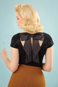 50s Celine Top in Black