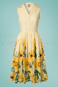 Dancing Days by Banned Yellow Sunflower Dress 102 89 24249 20180327 0001w