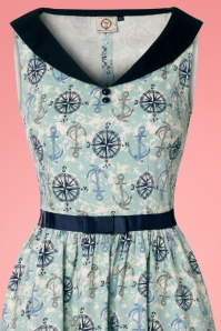 Dancing Days by Banned Compass 50s Nautical Blue Dress 102 39 24308 20180327 0001c